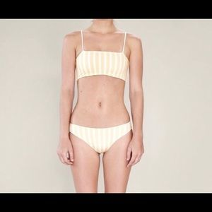 Acacia bikini top NWT